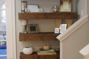 diy floating shelves