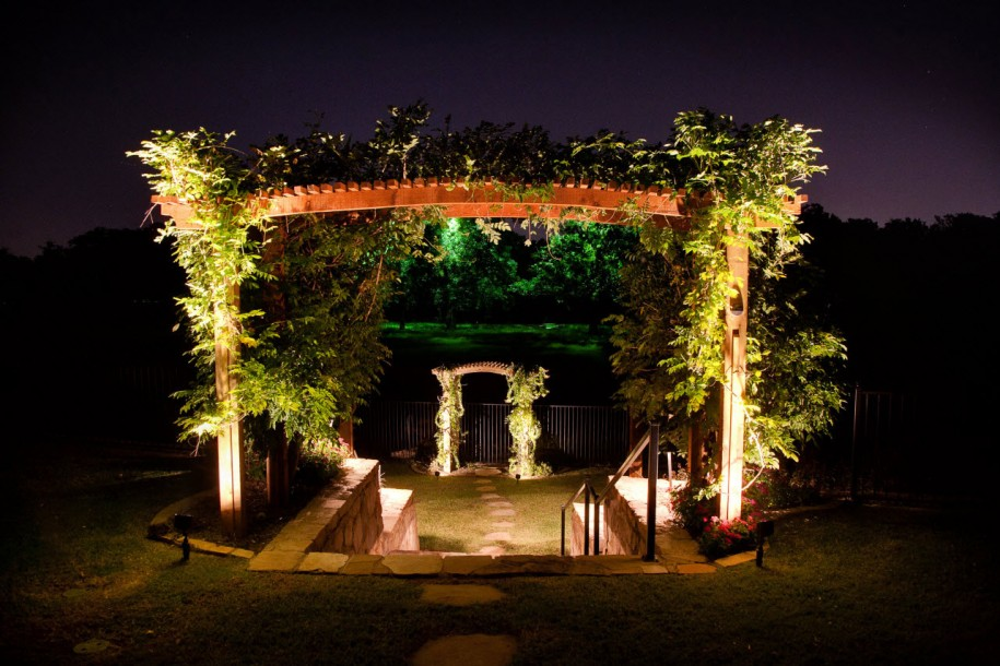 lighting as part of your garden theme