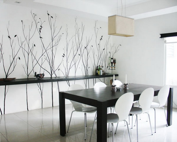 Superieur Decorating Ideas For Dining Room Walls