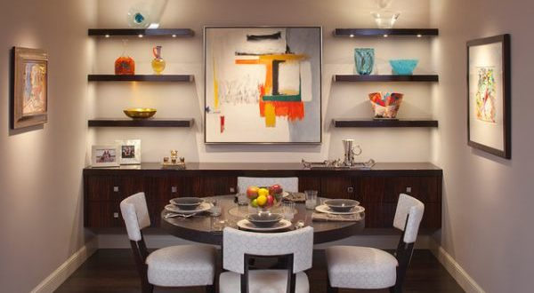 dining room wall hangings | 20 Fabulous Dining Room Wall Decorating Ideas – Home And ...