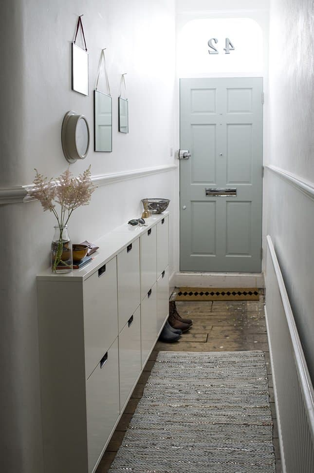 Narrow Entryway Design : Fabulous hallway storage ideas home and gardening