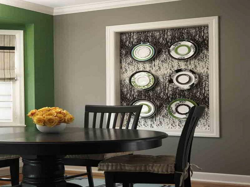 Wall Decorations For A Dining Room : Fabulous dining room wall decorating ideas home and