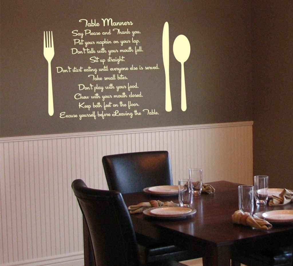 Wall Art In A Small Dining Room