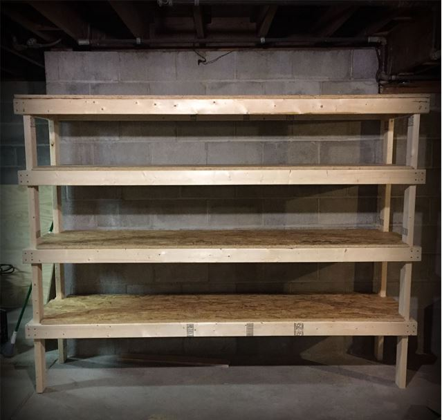 20 DIY Garage Shelves To Meet Your Storage Needs
