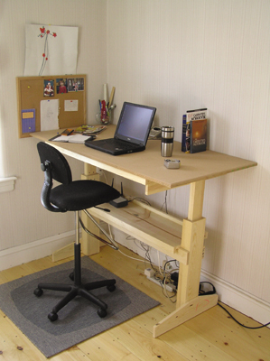 15 diy office desk you can build easily at home home and Diy home office desk plans