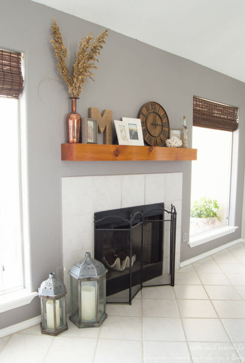 diy-fireplace-mantel-shelf-idea