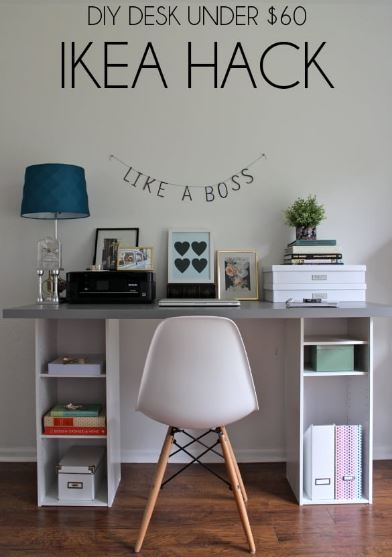 ikea build your own 15 diy office desk you can build easily at home home and 543