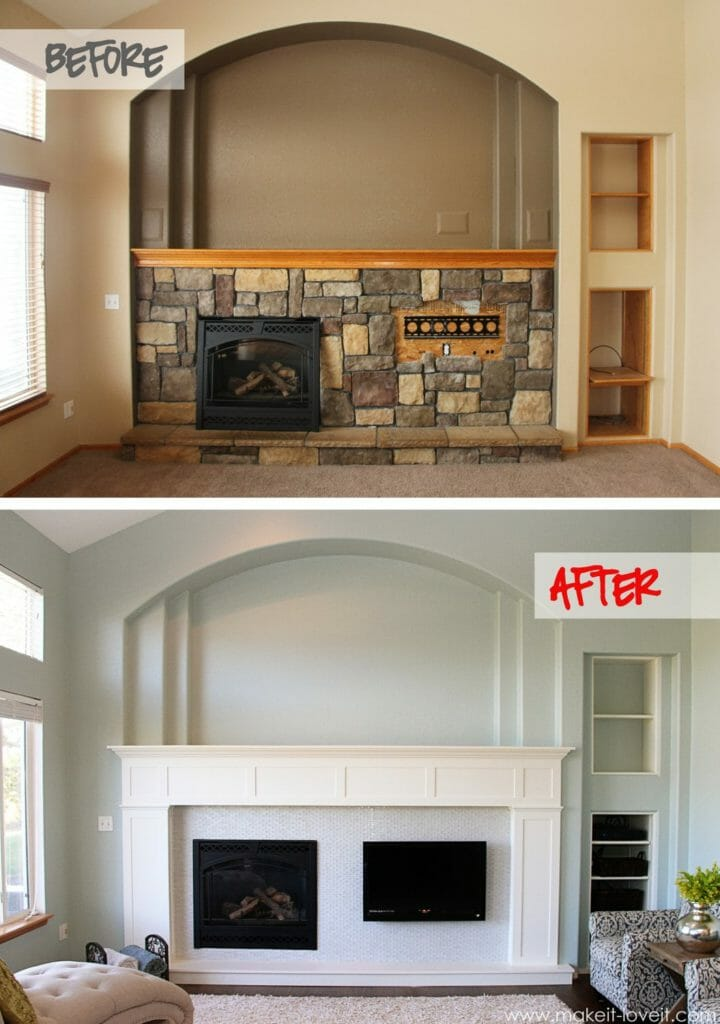 craftsman-style-fireplace-mantel-and-surround