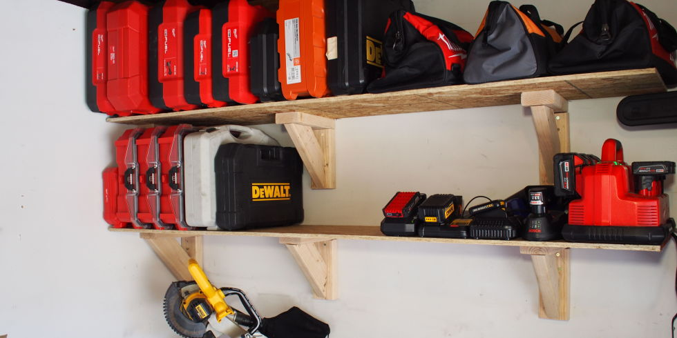 garage shelving units. 20 DIY Garage Shelves To Meet Your Storage Needs   Home And