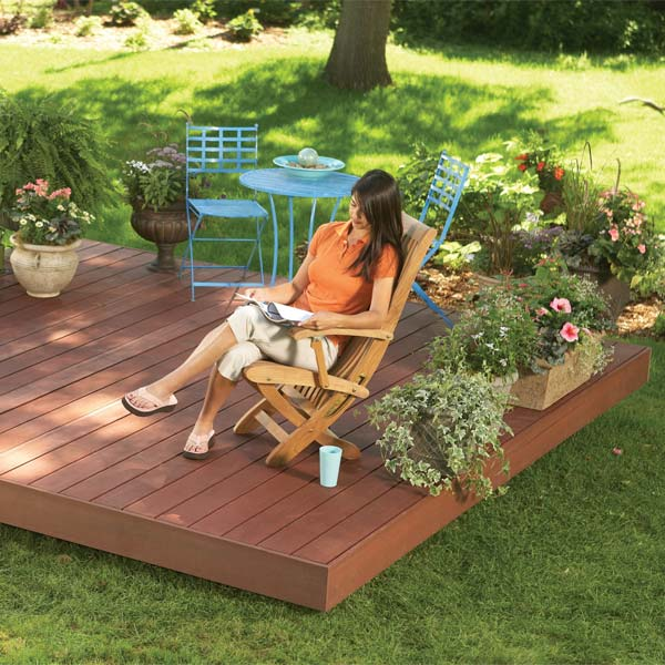 Garden Decking Ideas For Small And Large Plots: 15 DIY Decks You Can Build Yourself For Outdoor Retreat