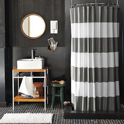 elegant bathroom shower curtain ideas home and gardening ideas - Shower Curtain Design Ideas
