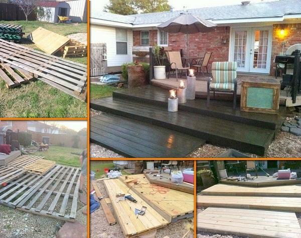 15 diy decks you can build yourself for outdoor retreat for How do you build a deck yourself