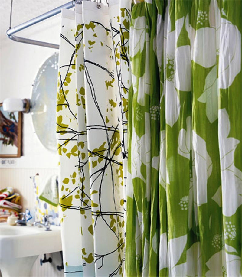 bamboo shower curtain modern style - Shower Curtain Design Ideas
