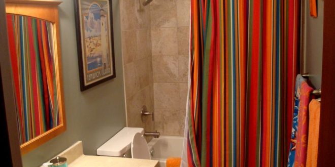 15 Elegant Bathroom Shower Curtain Ideas