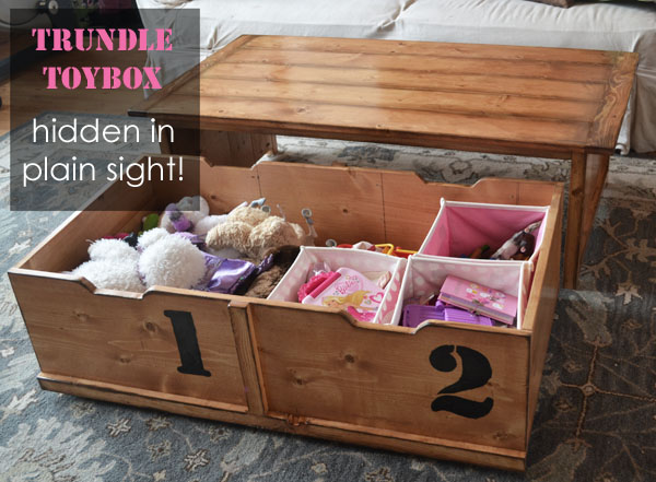 Coffee Table Toy Box