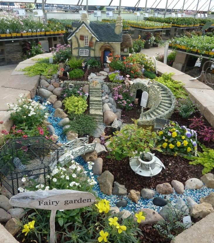 indoor DIY fairy garden