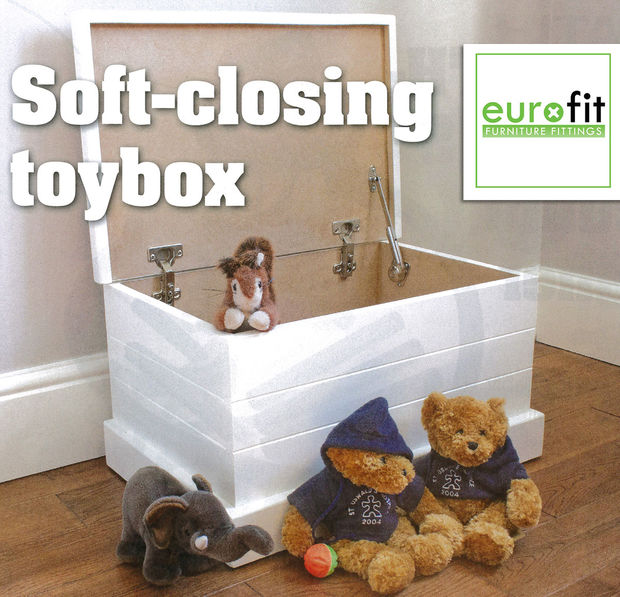 Soft Closing Toy Box