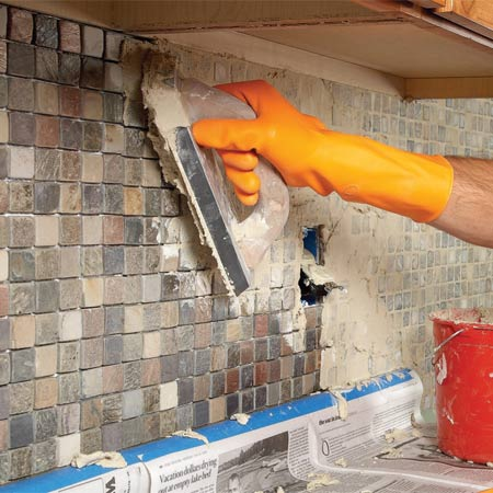 DIY backsplash in your home kitchen