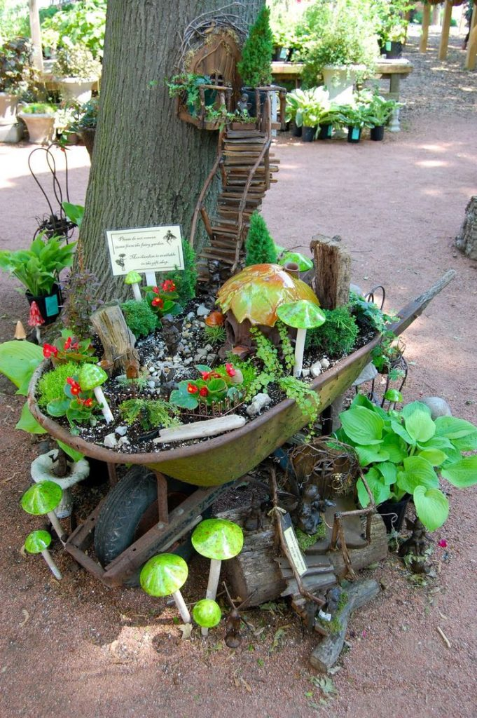 miniature garden idea