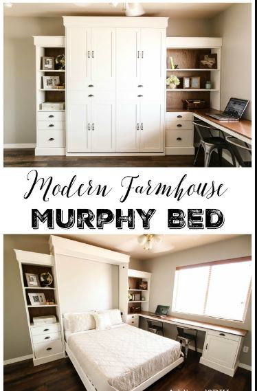 farmhouse murphy bed