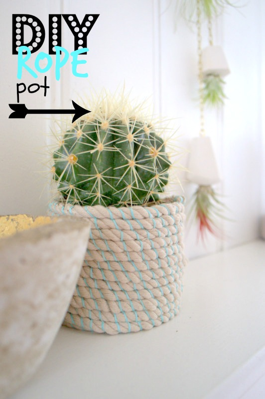 Rope Plant Pot