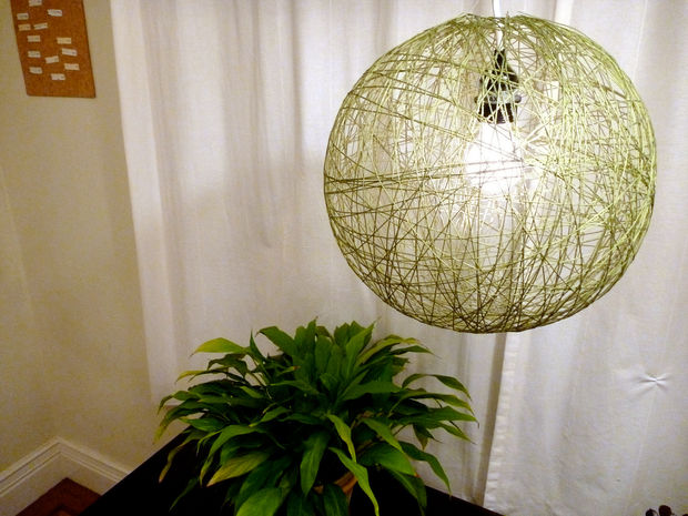 String Pendant Light