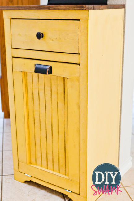 12 Tilt Out Trash Bins Or Cabinets To, Double Tilt Out Trash Bin Cabinet With Drawer Plans