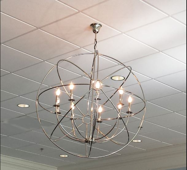 orb pendant lights