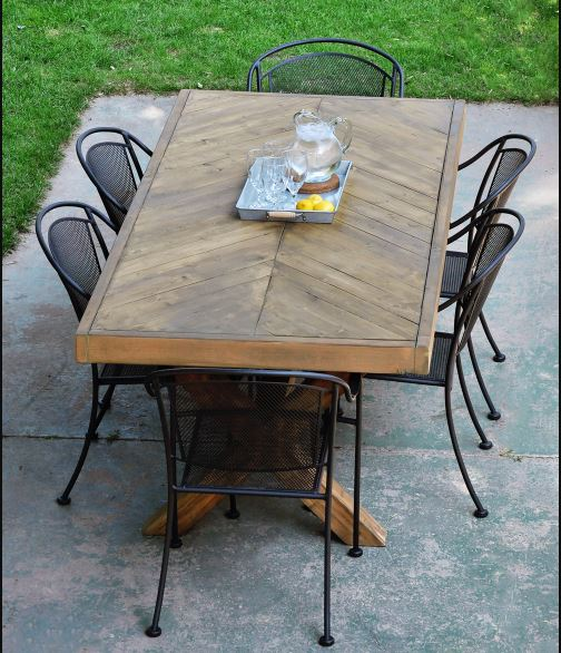 diy patio table plans