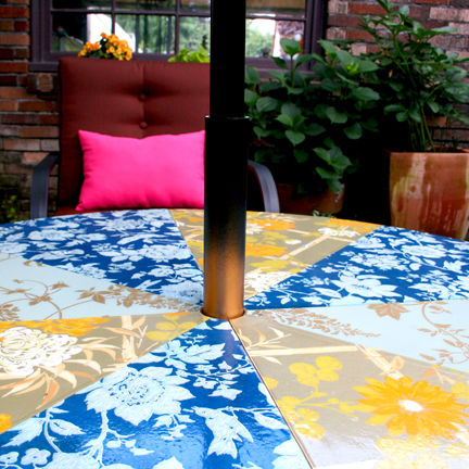 Recycled Patio Table