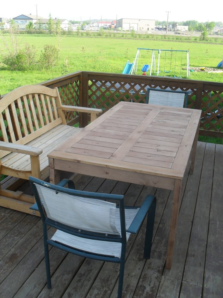12 DIY Outdoor Table You Can Build Easily Home And Gardening Ideas