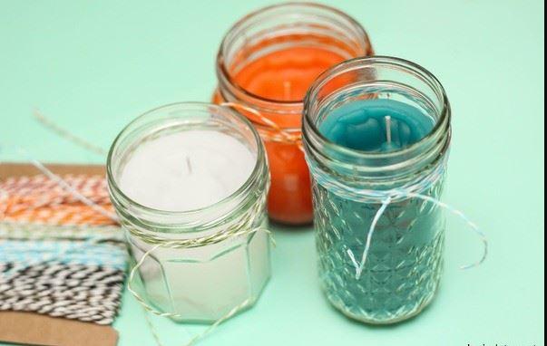Citronella Candle Jars