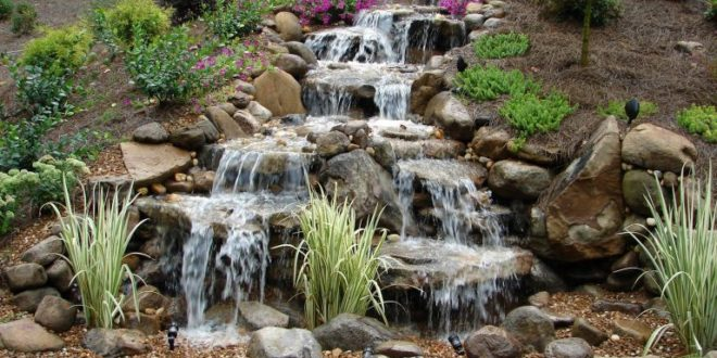10 Diy Waterfall Ideas And Features For Your Backyard Home Gardening