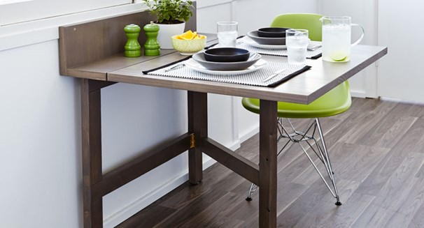 27 Diy Folding Tables To Maximize Floor Space Home And Gardening Ideas - How To Make A Fold Down Table