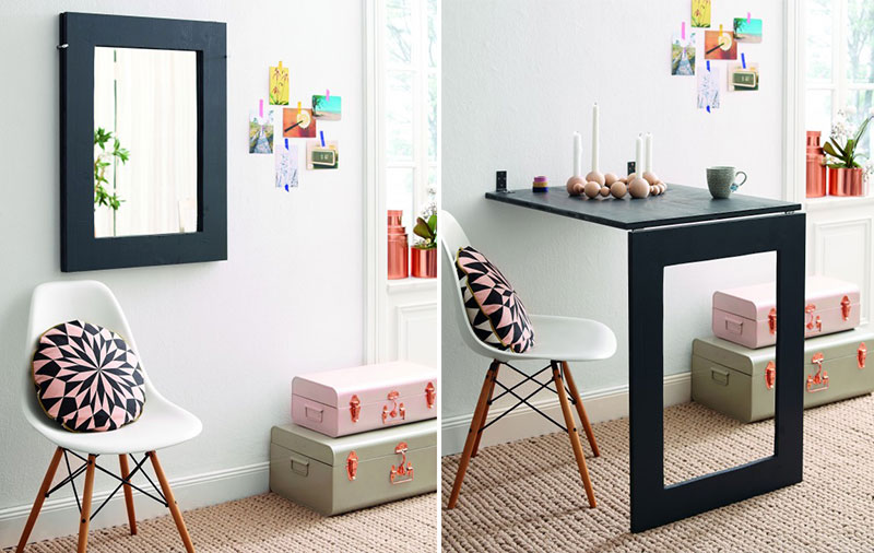 Mirror Folding Table