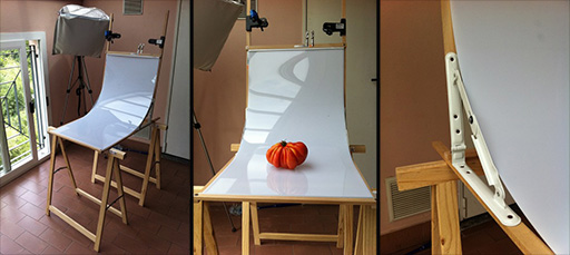 Folding Photography Table