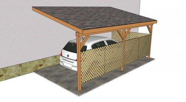 10 free carport plans build a diy carport on a budget home and gardening ideas. Black Bedroom Furniture Sets. Home Design Ideas