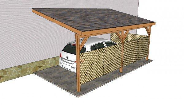 37 Free Carport Plans Build A Diy Carport On A Budget Home And Gardening Ideas