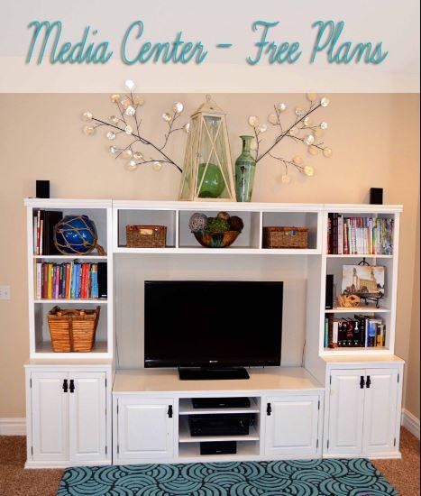 DIY entertainment center