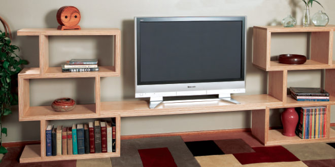 12 DIY Entertainment Center Projects and Ideas