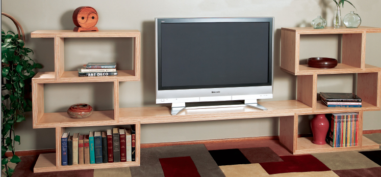 12 DIY Entertainment Center Projects and Ideas – Home And ...