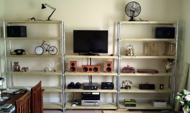 12 diy entertainment center projects and ideas home and gardening diy entertainment center solutioingenieria Choice Image