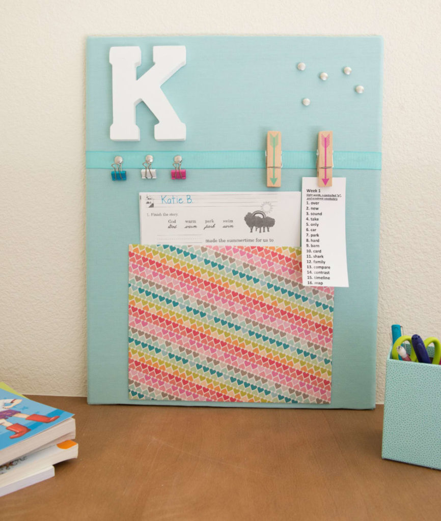 Covered Corkboard