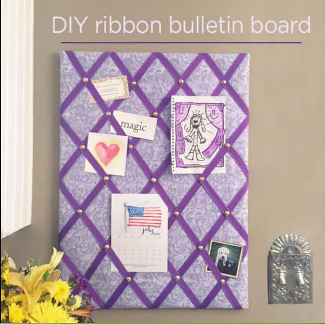 Ribbon Bulletin Board