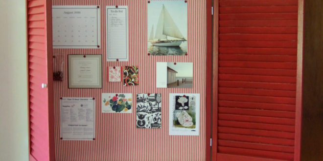 Kid Art Projects With Cork Bulletin Board