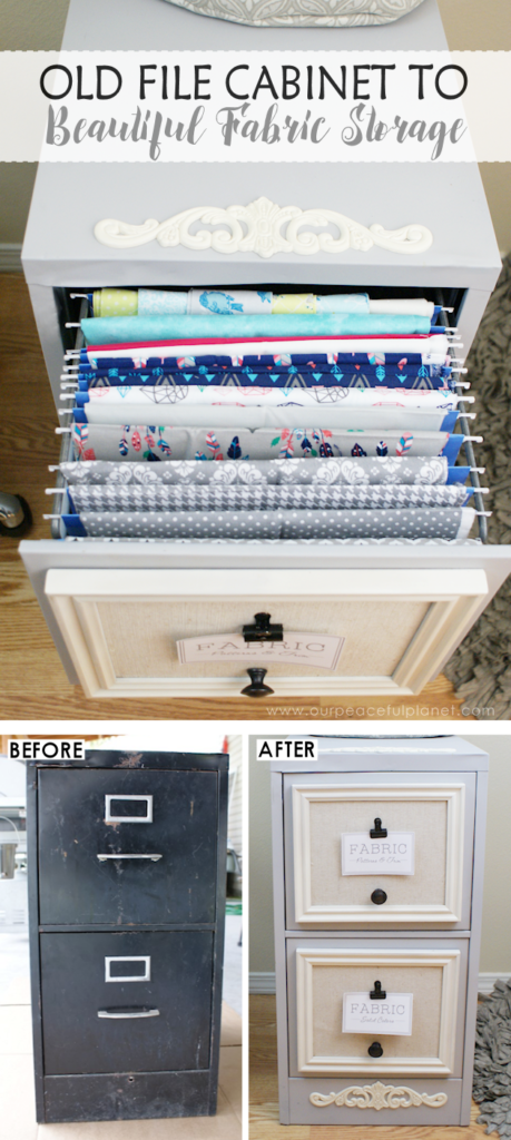 Make A Two-drawer File Cabinet