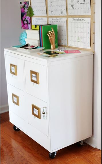 15 File Cabinet Makeovers Diy Ideas To Update An Old File