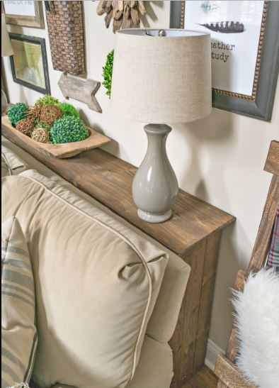 15 diy sofa tables you can build easily home and gardening ideas another rustic behind the sofa table design easy and stylish this diy sofa table will add a stylish backdrop for your couch plus provide a surface for solutioingenieria Images