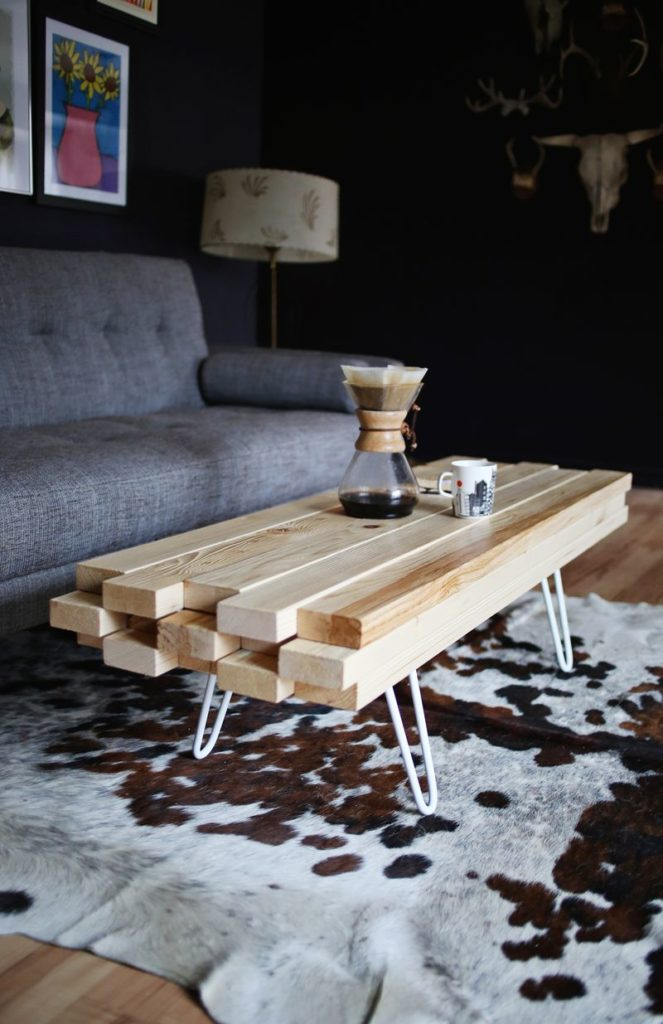 Making A Coffee Table Out Of Planks