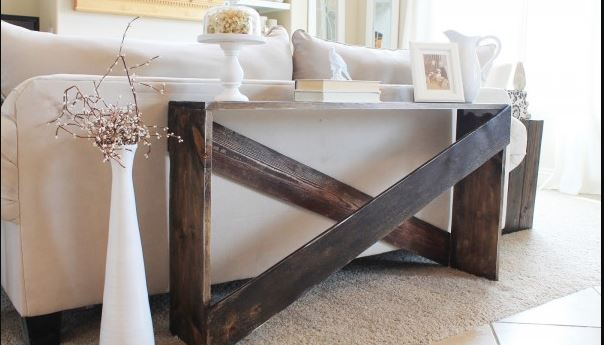 Peachy 15 Diy Sofa Tables You Can Build Easily Home And Gardening Uwap Interior Chair Design Uwaporg